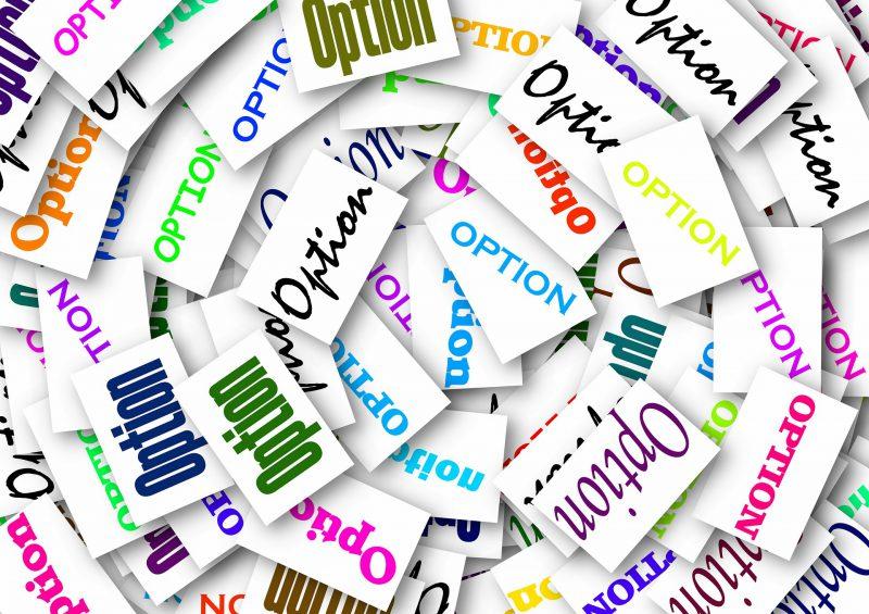 Optionen (by pixabay)